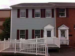 LAWS exterior renovation by general contractor Loudoun Contracting