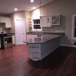 New Home Build - Kitchen with Hardwood and Granite